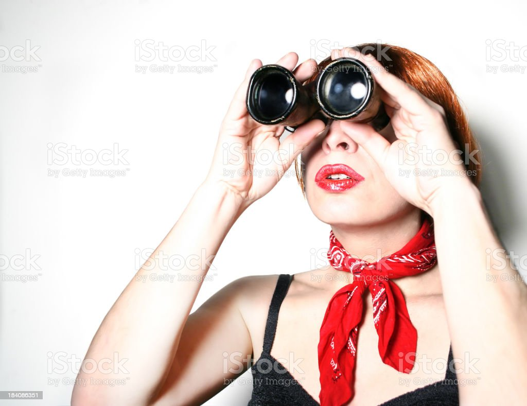 Seeking... stock photo