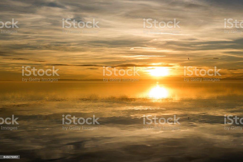 Seelandschaft stock photo