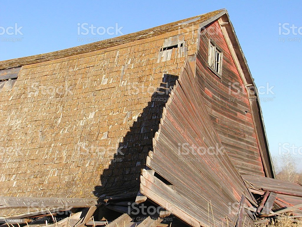 Seen Better Days royalty-free stock photo