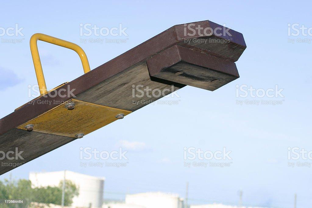 seesaw stock photo