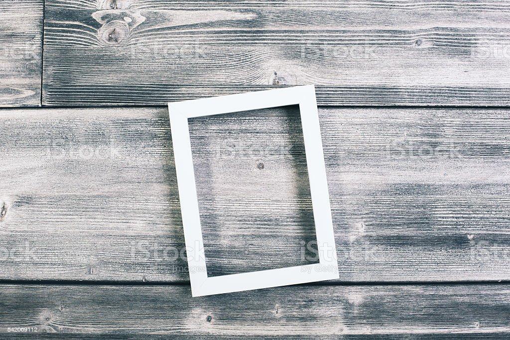 See-through frame stock photo