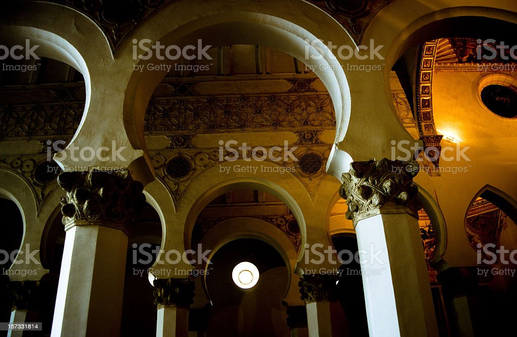 Sefarad - Synagoge, Toledo royalty-free stock photo