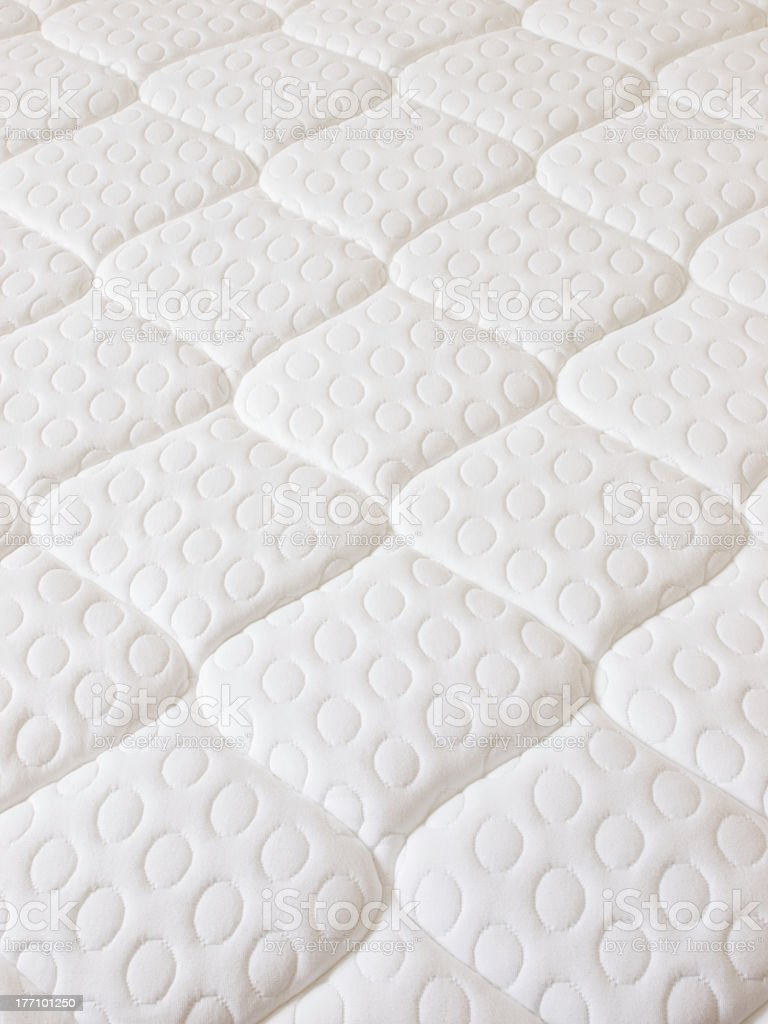 A segmented spring mattress image with no background royalty-free stock photo