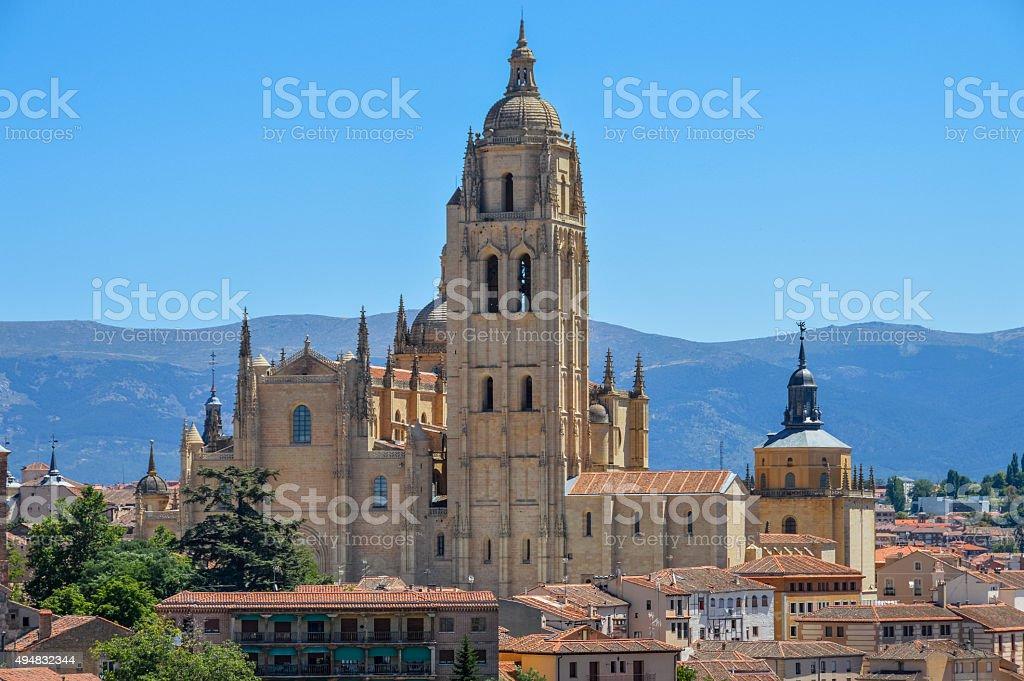 Segovia, Spain -  City view stock photo