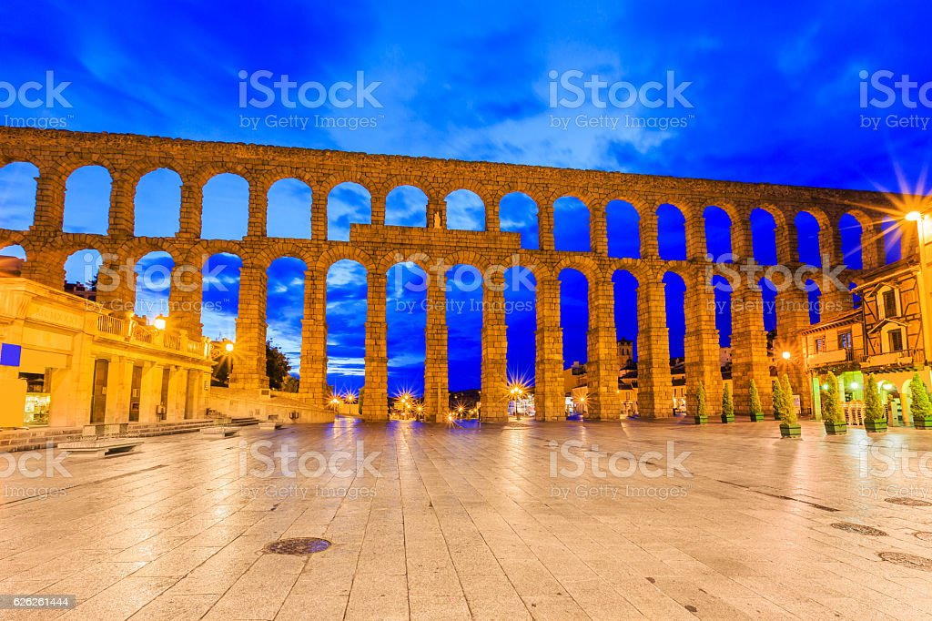 Segovia, Spain. stock photo