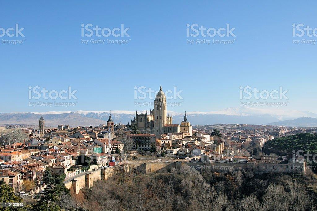 "Segovia ""Vista"" Lizenzfreies stock-foto"