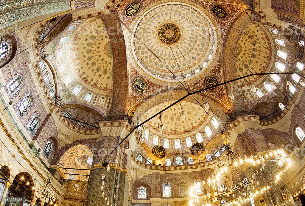 Sehzade Mosque in istanbul,Turkey royalty-free stock photo