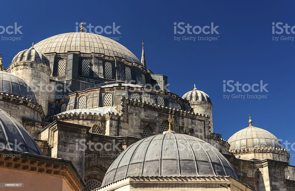 Sehzade Mosque royalty-free stock photo