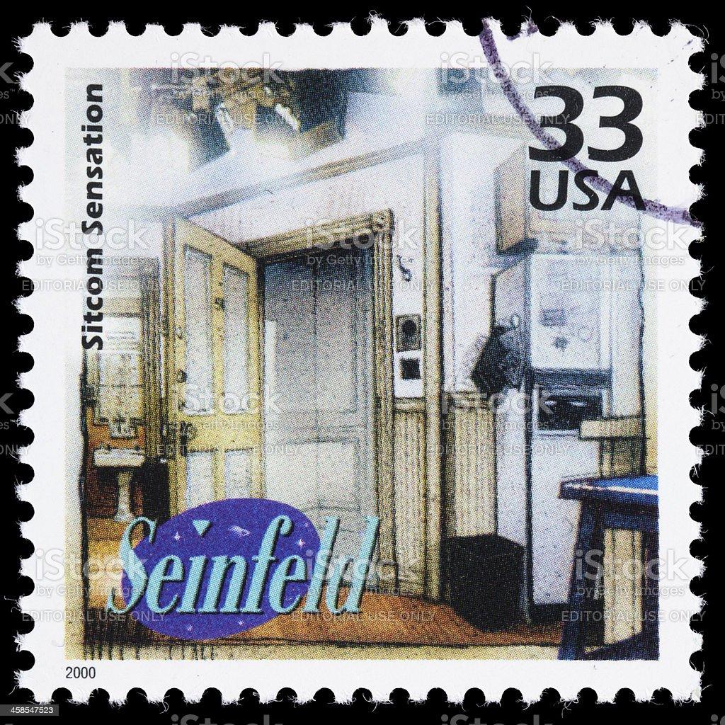 USA Seinfeld postage stamp stock photo