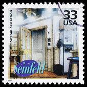 USA Seinfeld postage stamp