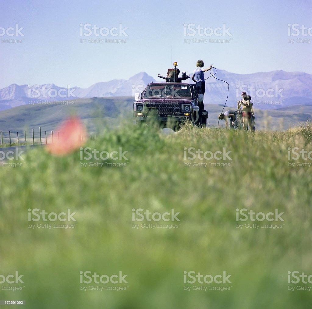 Seismic Jug Truck#3 stock photo