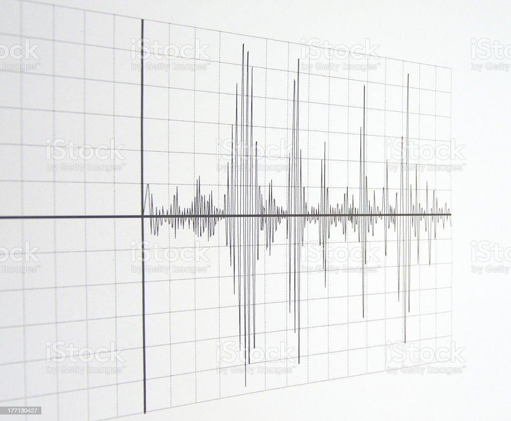 seismograph stock photo