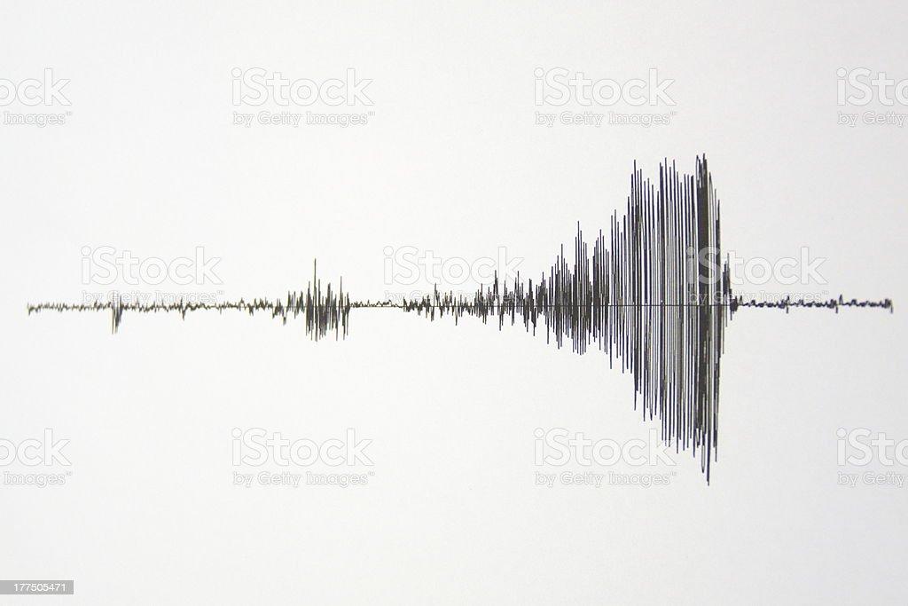seismograph royalty-free stock photo