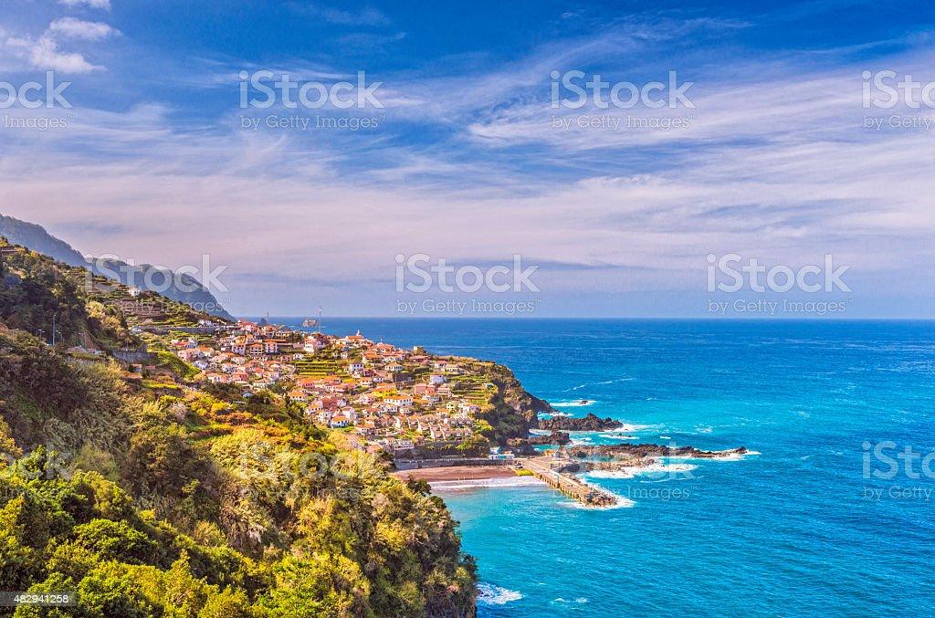 Seixal - Madeira stock photo