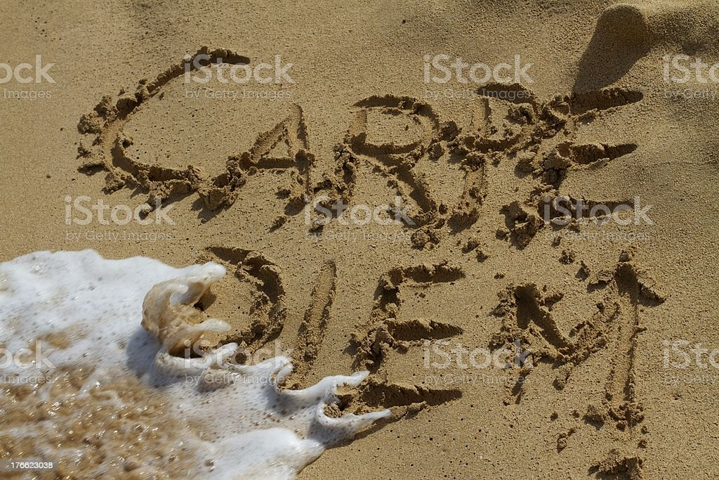 Seize the day royalty-free stock photo