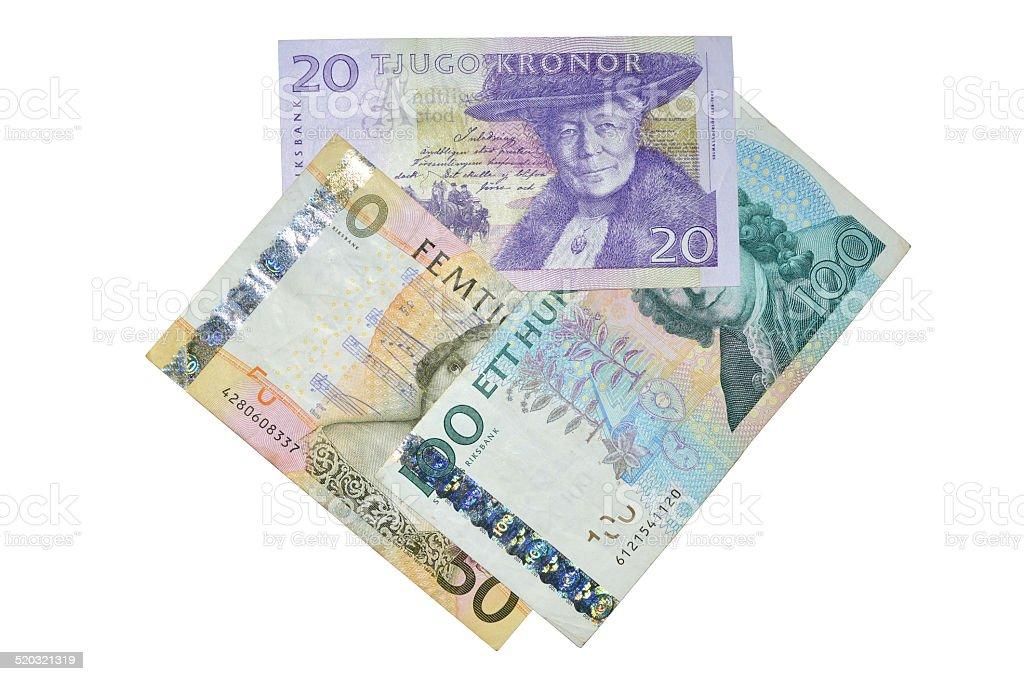 Sek corona sueca composición de los billetes foto de stock libre de derechos