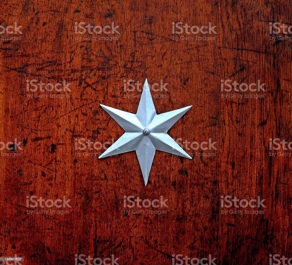 Sekt symbol star stock photo