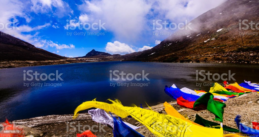 Sela lake stock photo