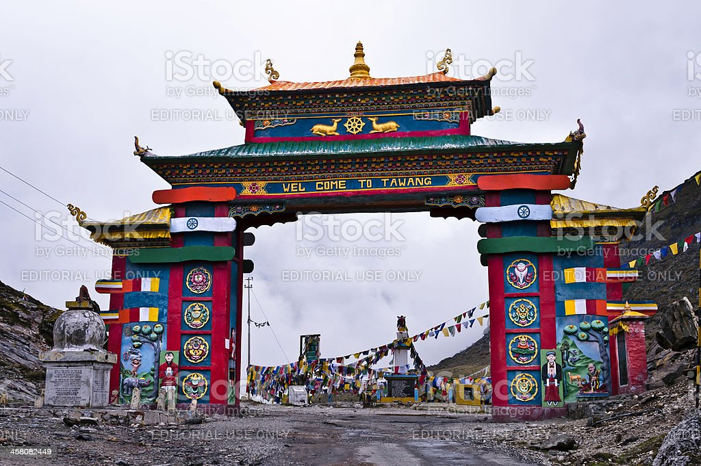 Sela Pass, Tawang districk, Arunachal Pradesh, India stock photo