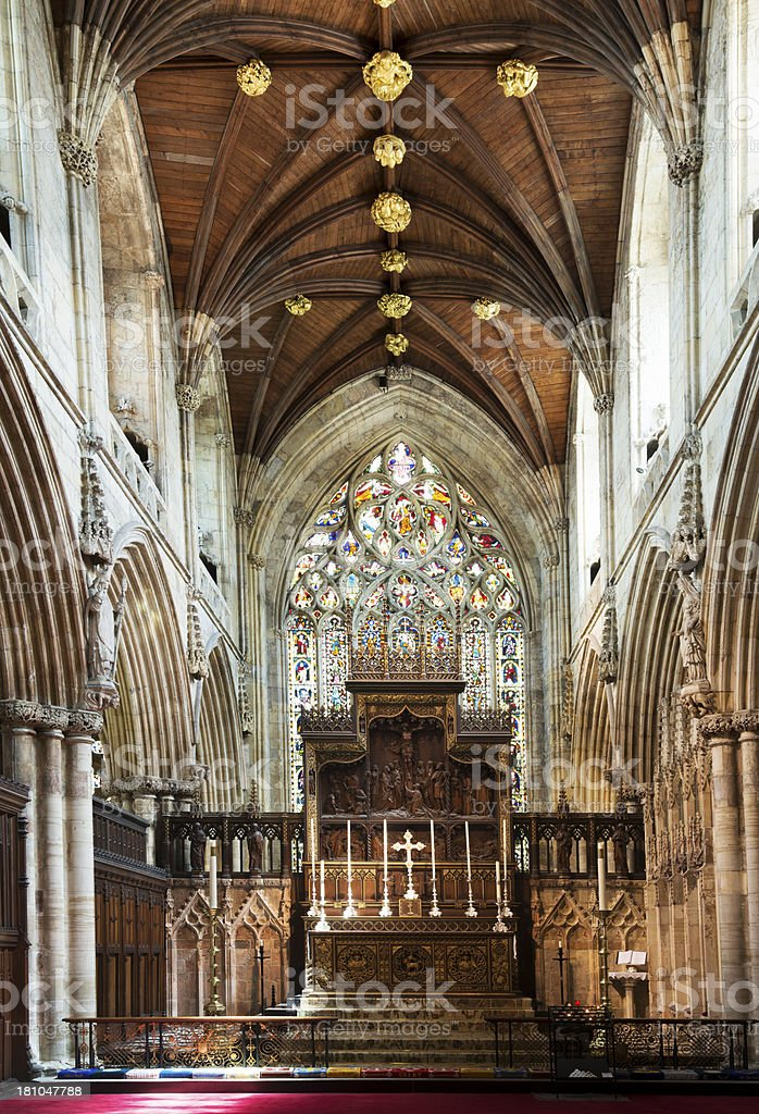 selby abbey royalty-free stock photo