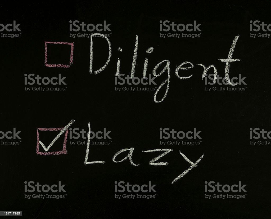 select lazy royalty-free stock photo