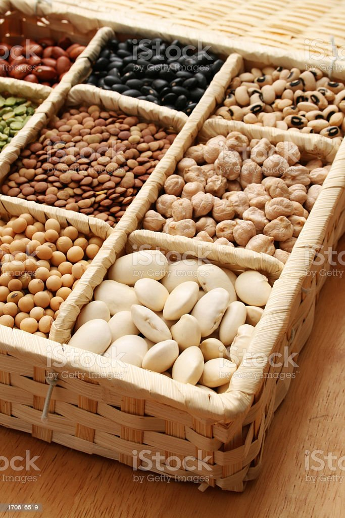 Selected beans royalty-free stock photo