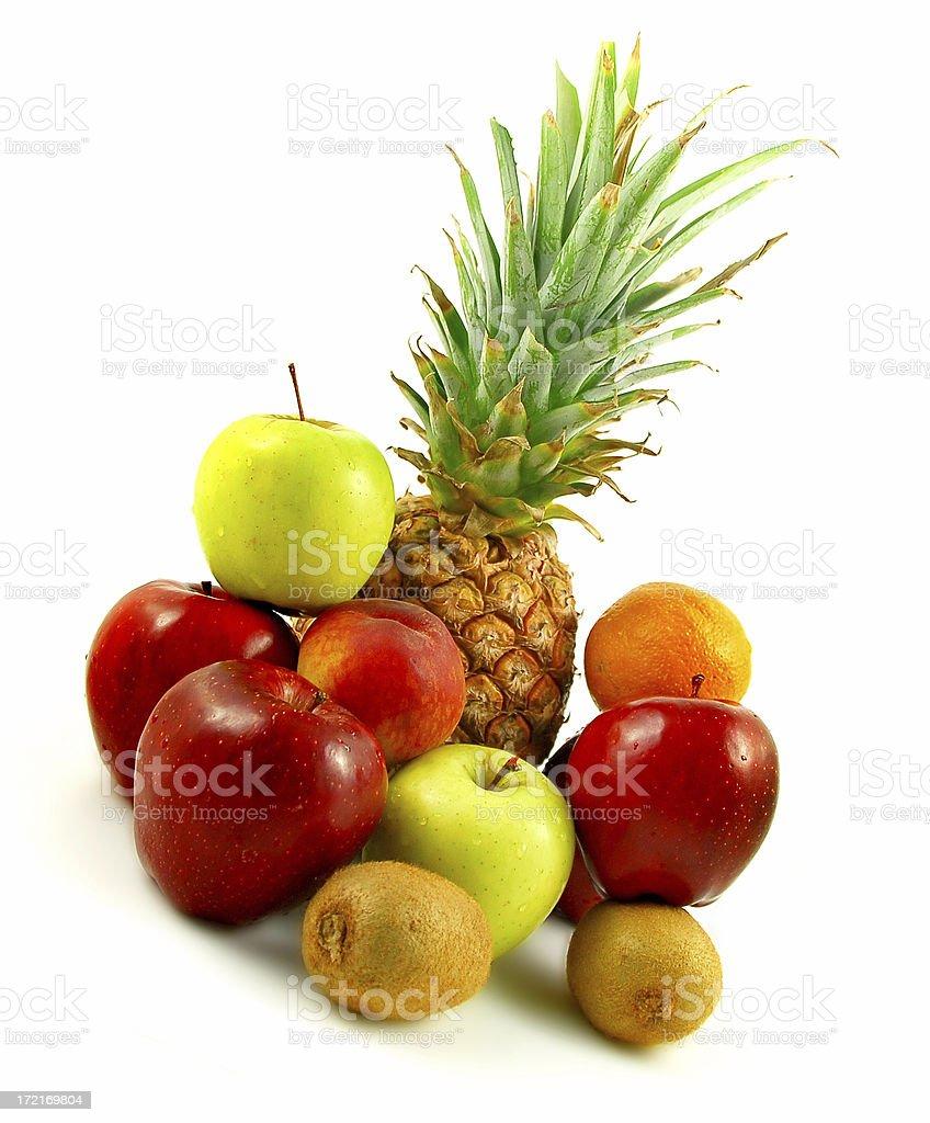 Selected fruit stock photo