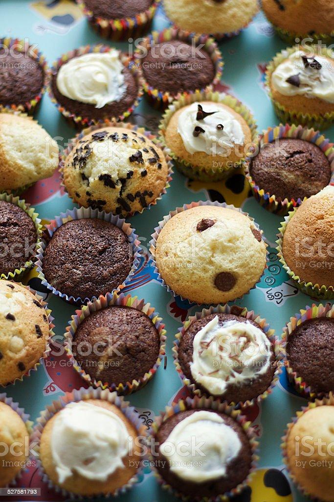 Selezione di Cupcakes foto stock royalty-free