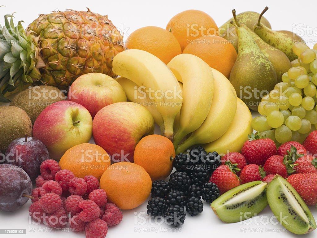 Selection Of Fresh Fruit royalty-free stock photo