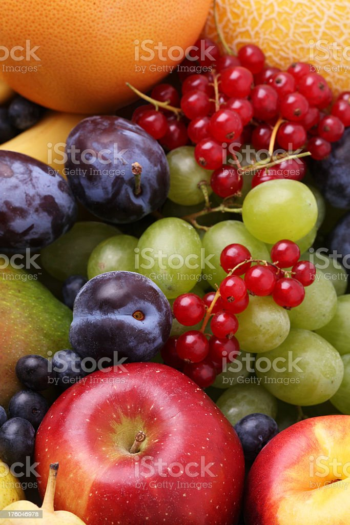 Selection of Fruits royalty-free stock photo