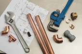 Selection of Plumbers Tools and Plumbing Materials