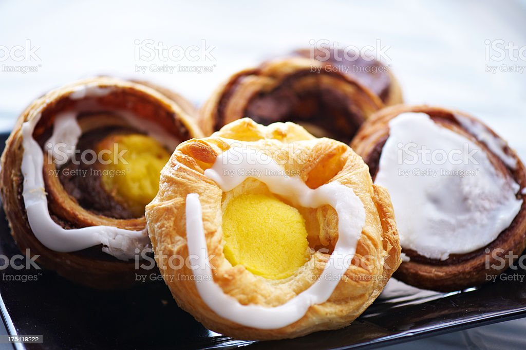 Selection of tasty cakes stock photo