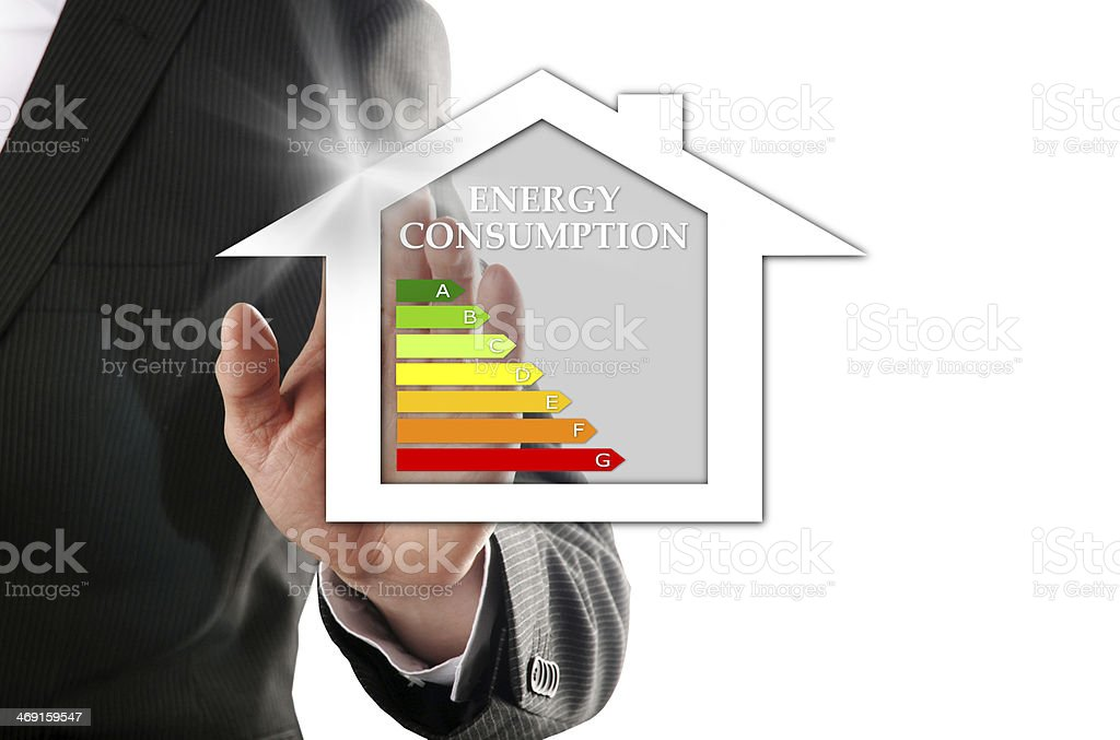 selection of the dream house stock photo