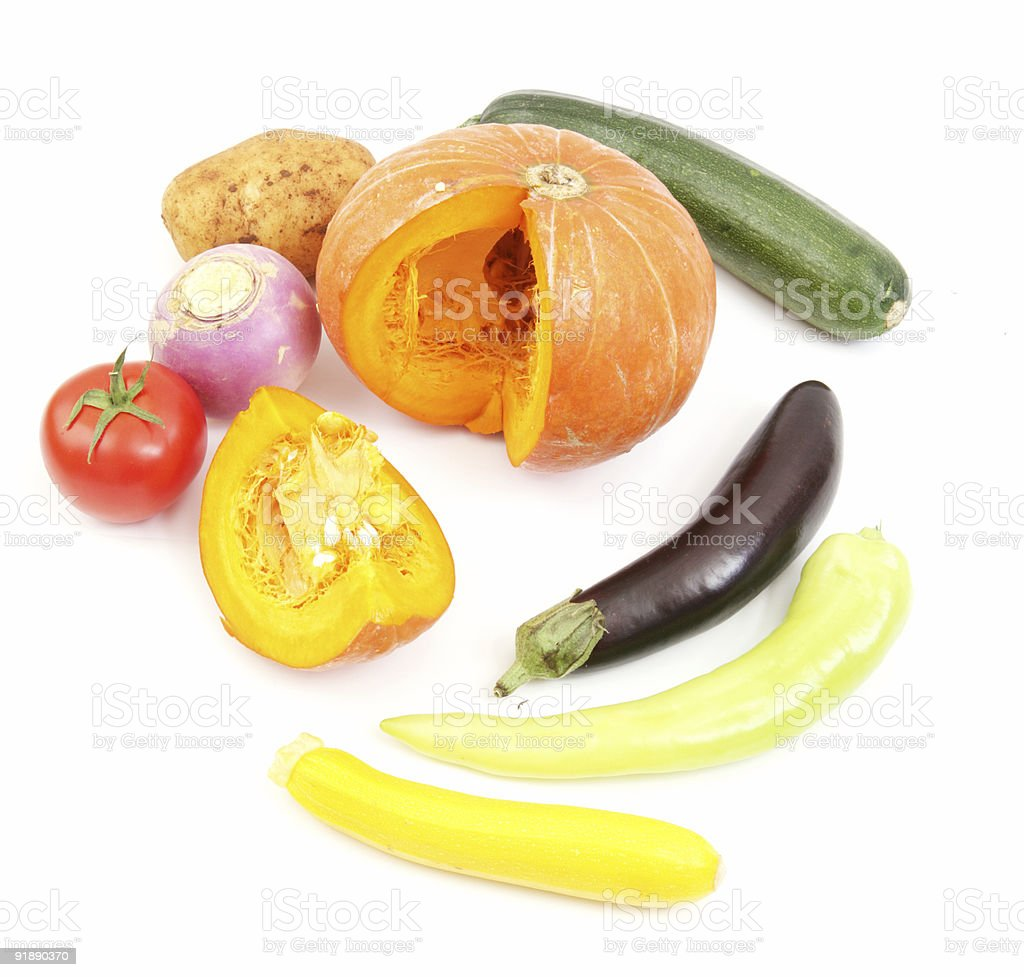 Selection of Vegies royalty-free stock photo
