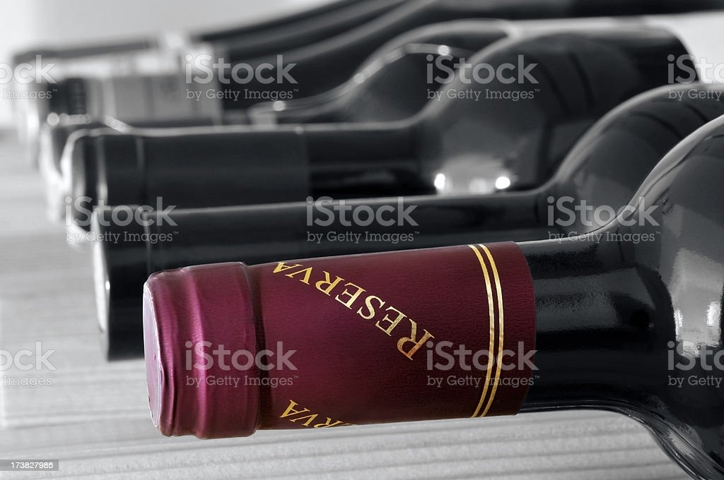 Selection of wines royalty-free stock photo