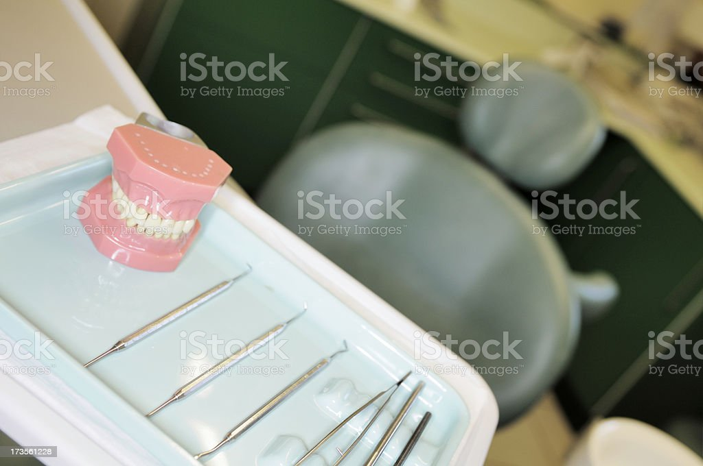 selective focus image of dental office royalty-free stock photo
