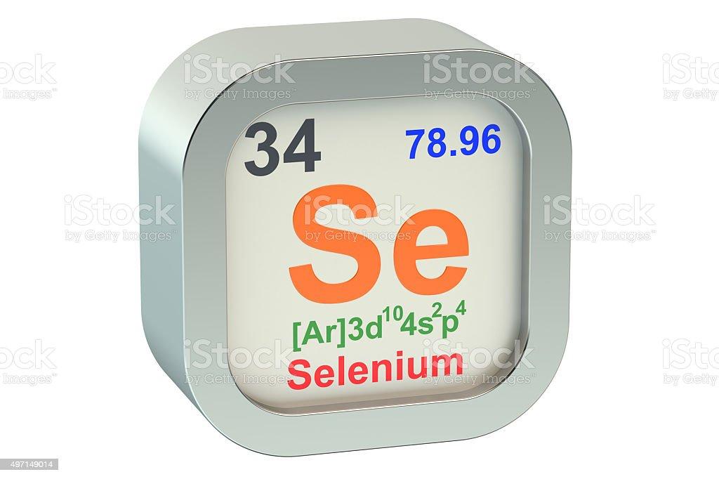 Selenium stock photo