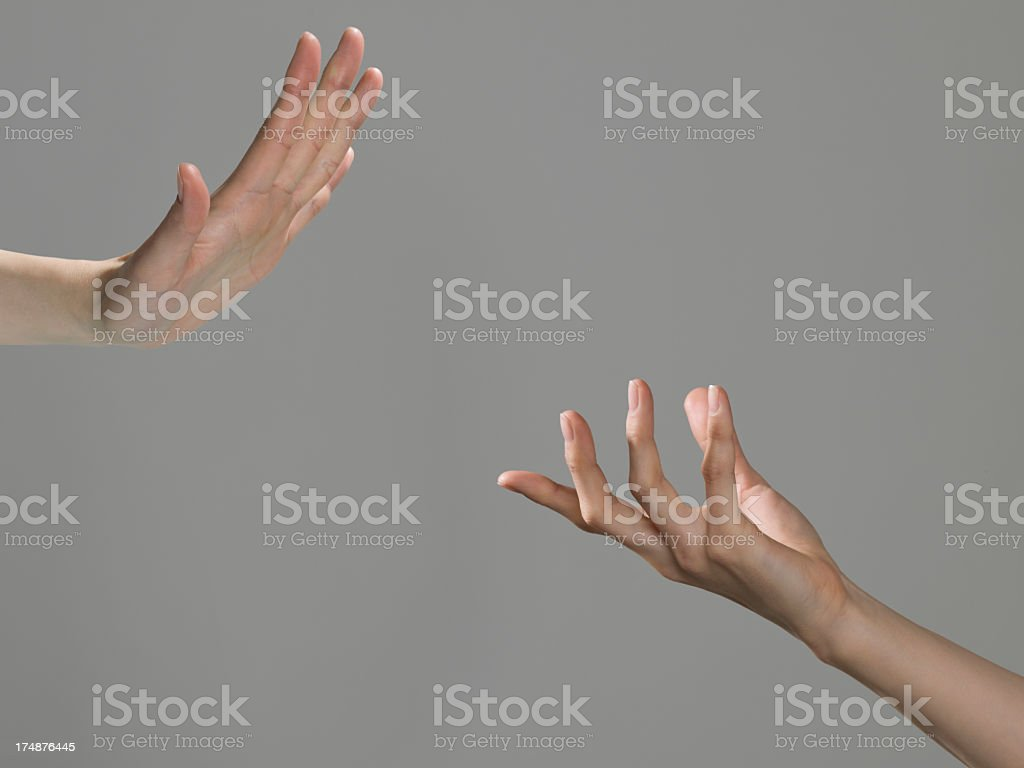 Self and others. stock photo