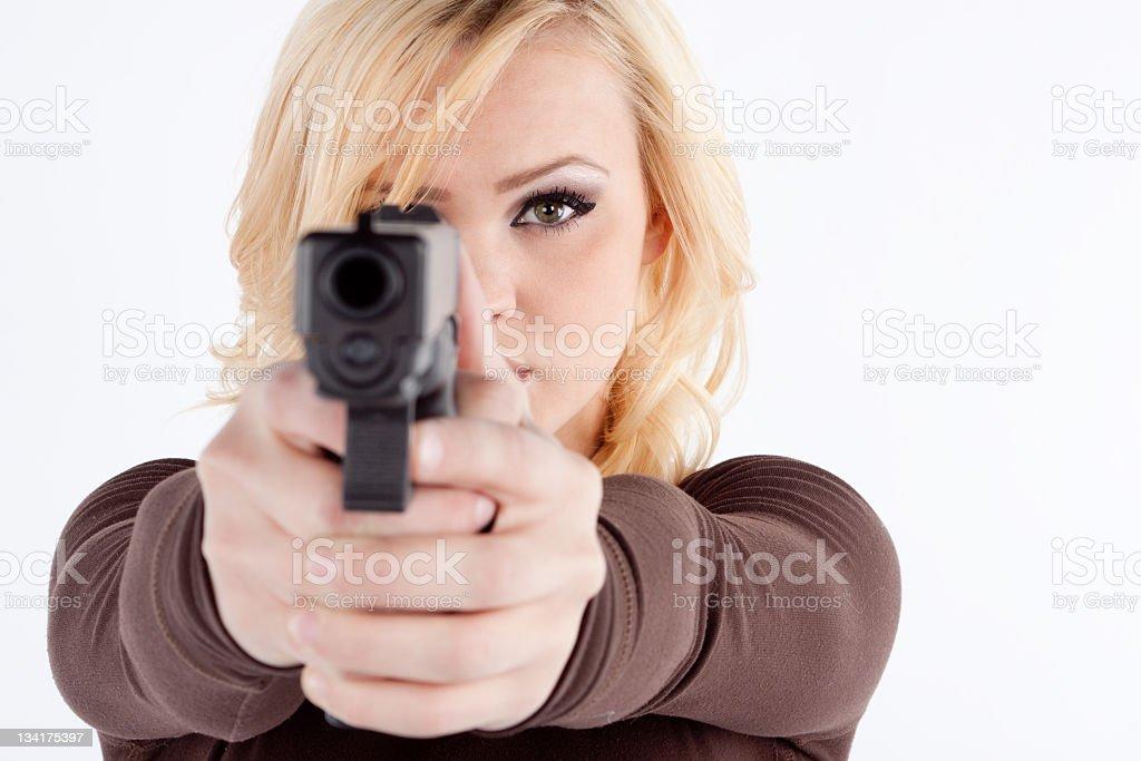 Self Defense stock photo
