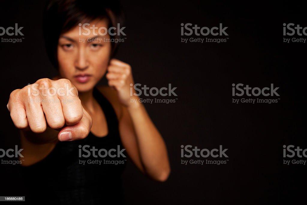 Self Defense royalty-free stock photo