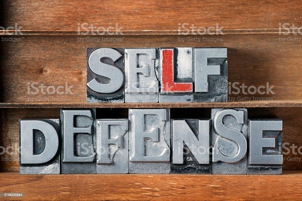 self defense tray stock photo