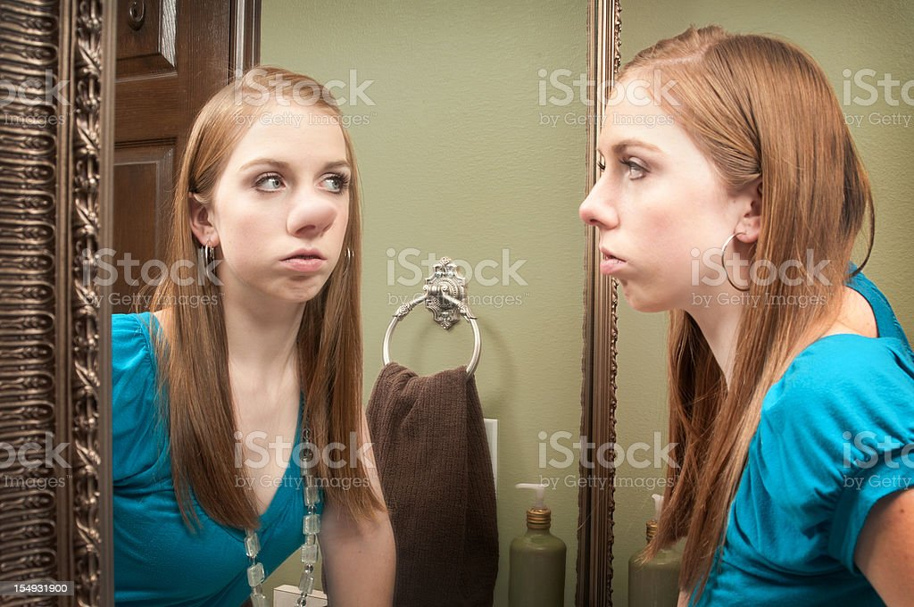 Self Perception stock photo