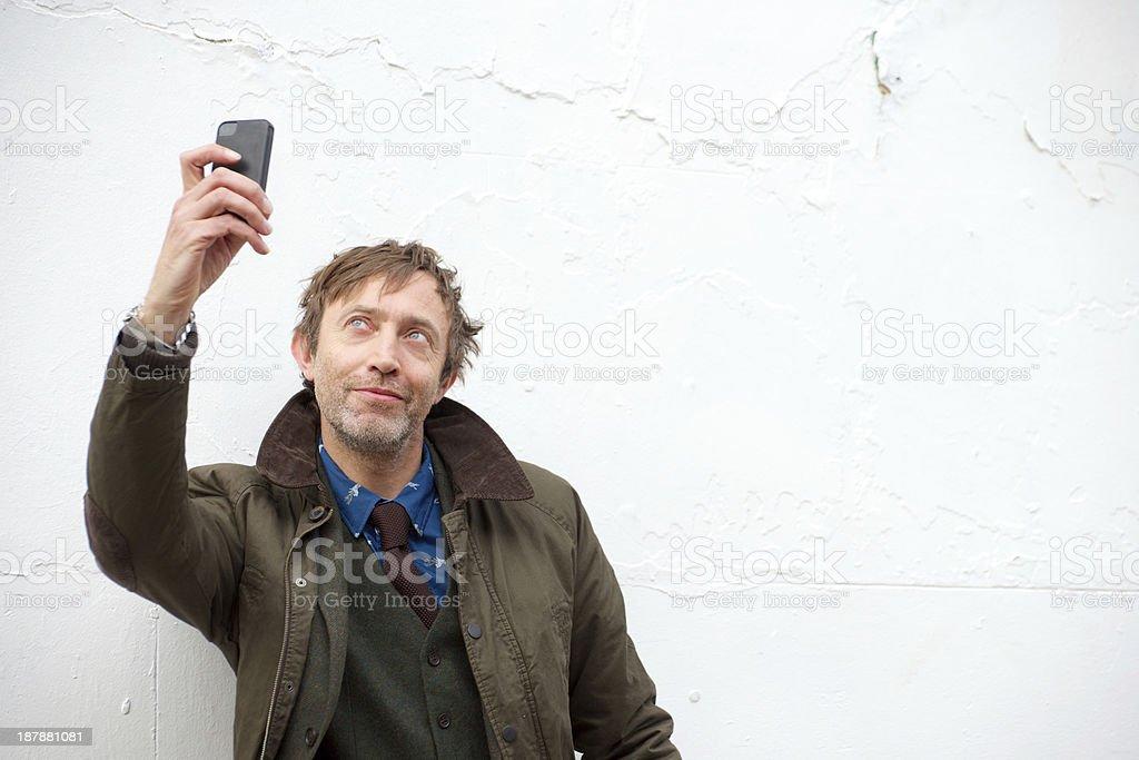 Self Portrait royalty-free stock photo