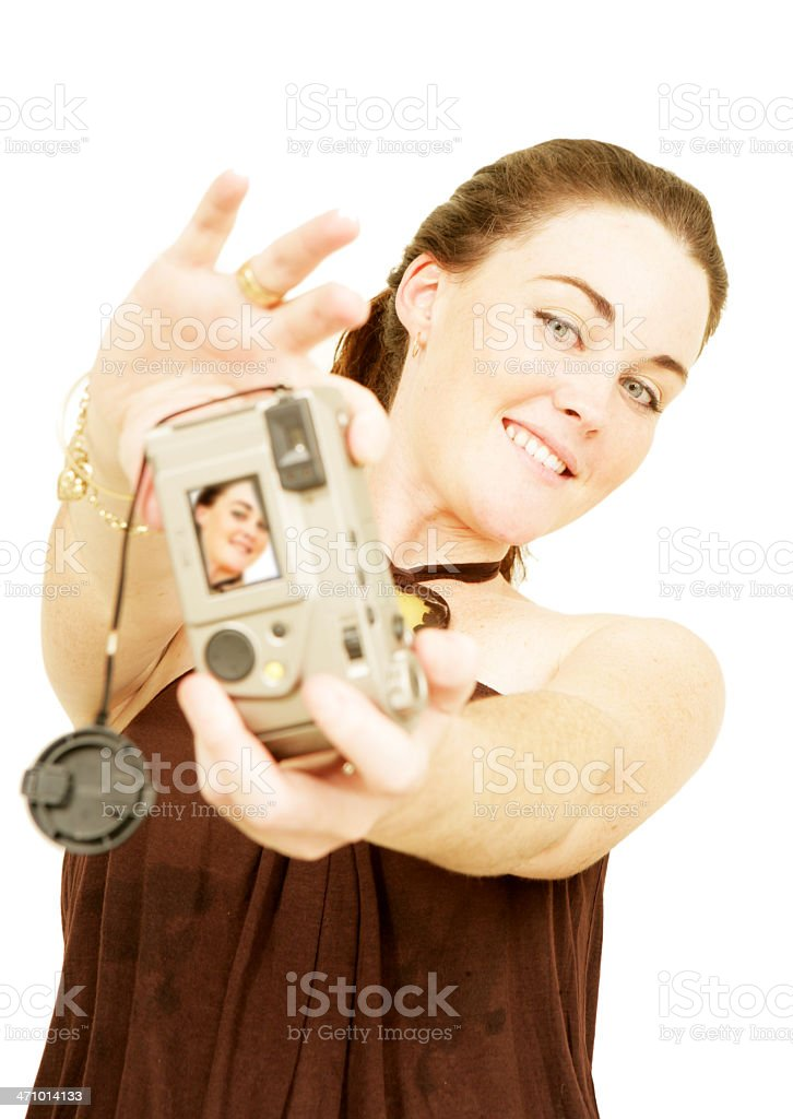 Self Portrait stock photo