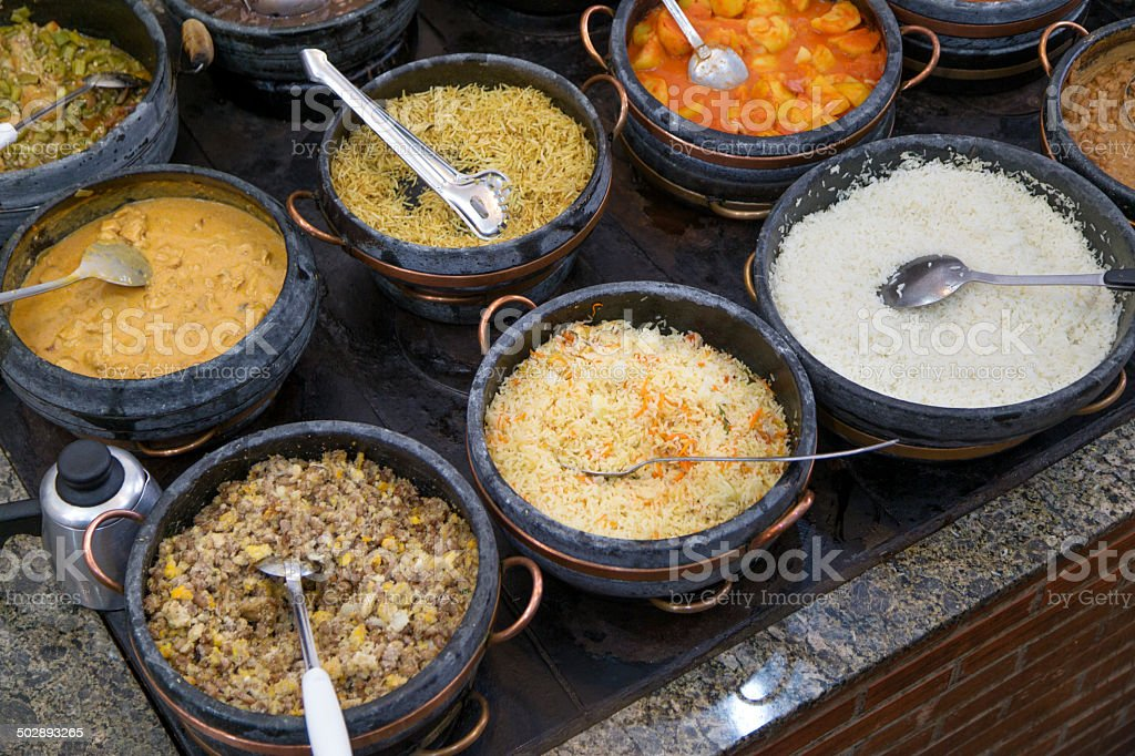 Self service restaurant in Minas Gerais royalty-free stock photo
