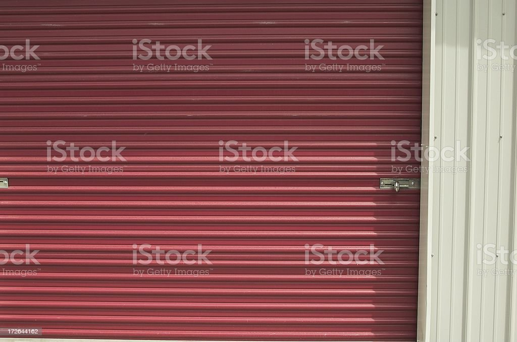 self storage door royalty-free stock photo