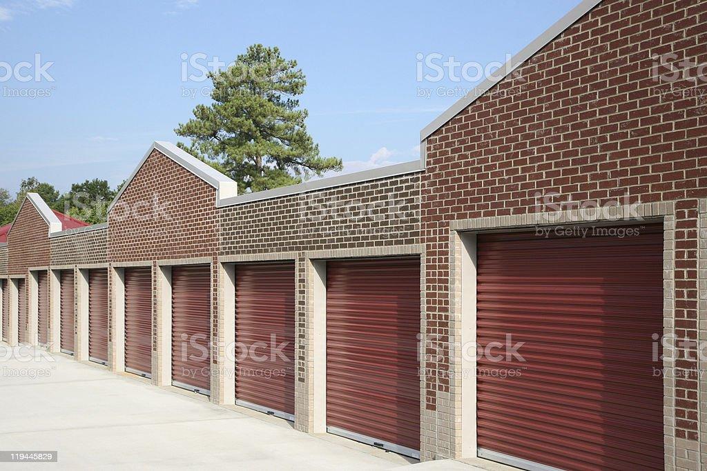 Self storage facility royalty-free stock photo