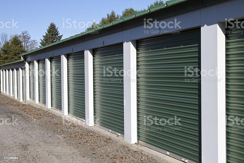 Self Storage Facility stock photo