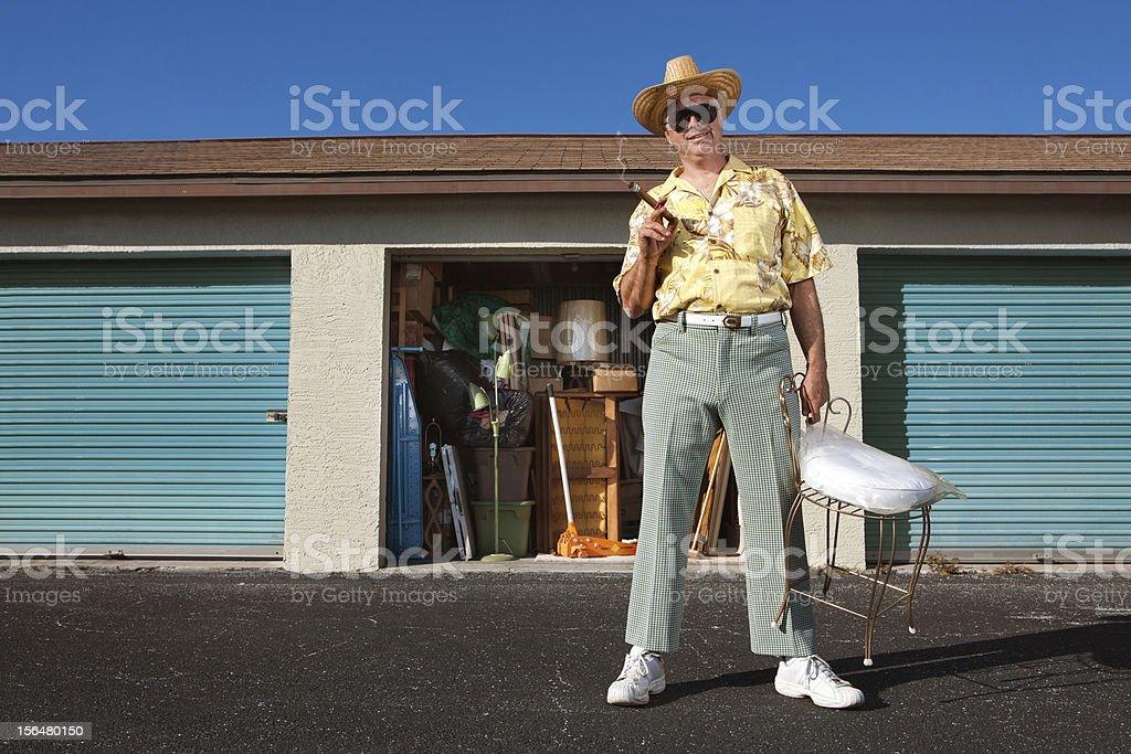 Self Storage lifestyle stock photo