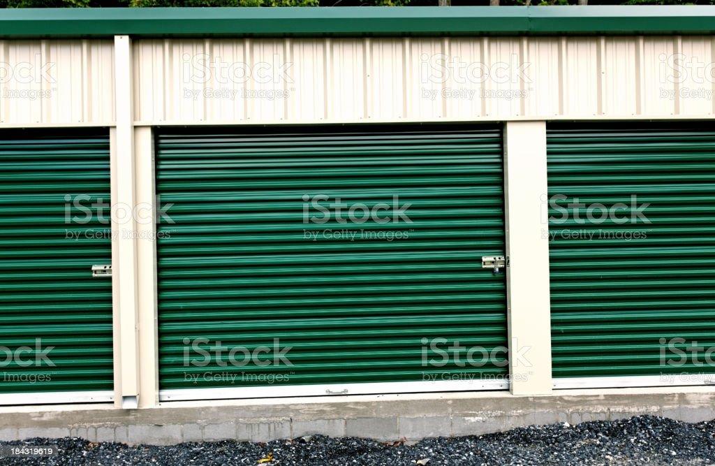 Self Storage royalty-free stock photo